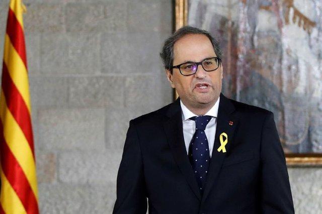 درخواست رهبر کاتالونیا از مادرید برای پذیرش رفراندوم استقلال