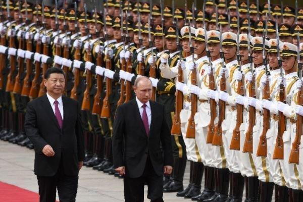 روابط نظامی روسیه و چین بر پایه اعتماد است
