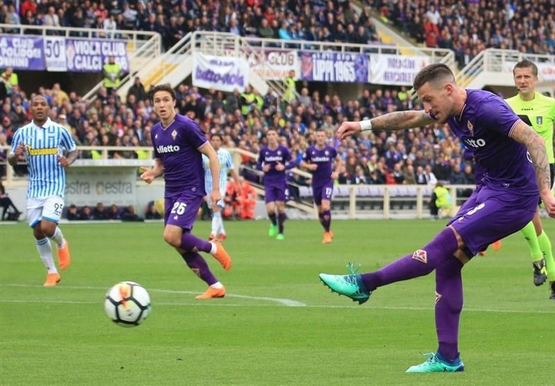 فوتبال دنیا، فیورنتینا در خانه به تساوی رضایت داد
