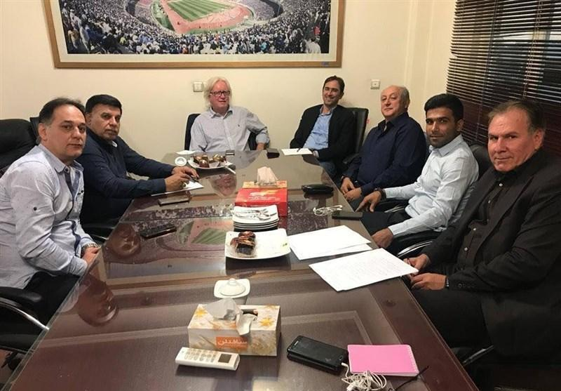 تشکیل جلسه کمیته فنی استقلال با حضور شفر