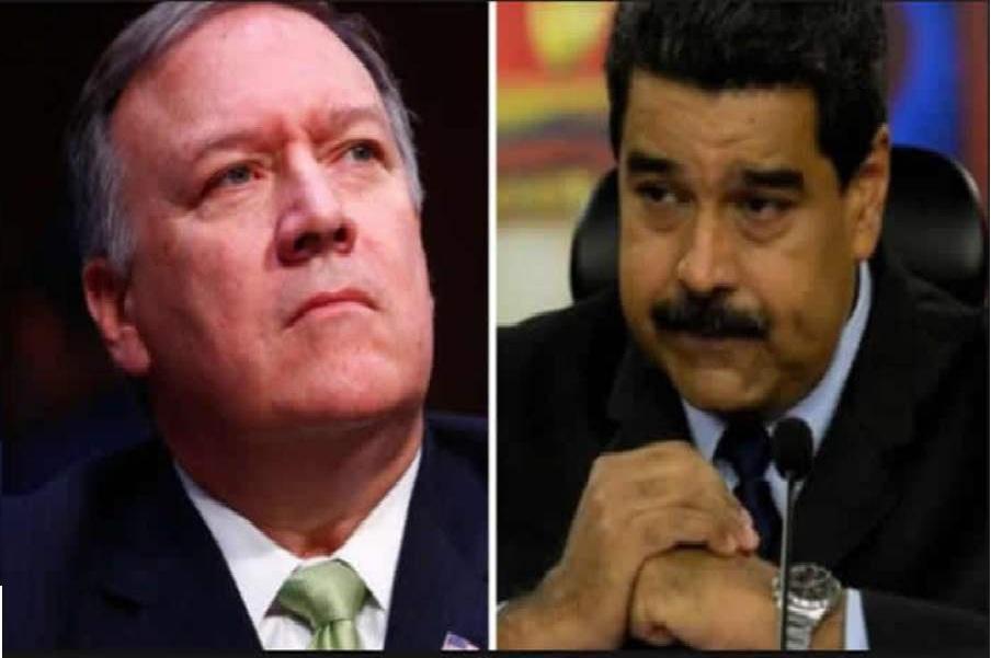 وزیرخارجه آمریکا علیه رئیس جمهوری ونزوئلا توئیت کرد