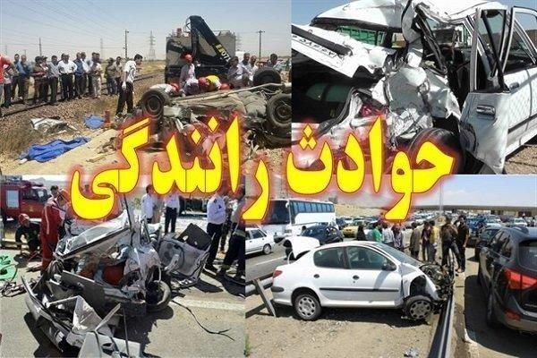 واژگونی 2 خودرو در فاصله کمتر از 8 ساعت و 21 نفر مجروح در زاهدان