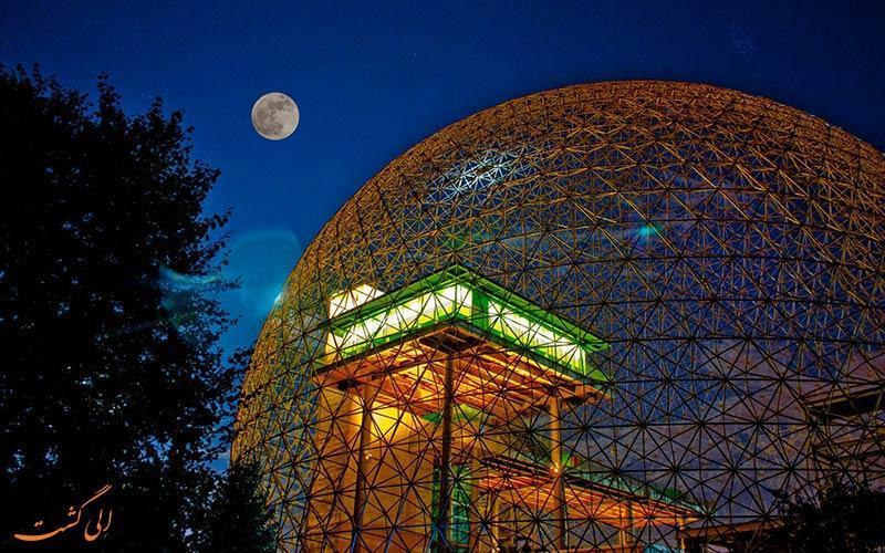 داستان پشت پرده موزه زیست کره مونترال کانادا چیست؟