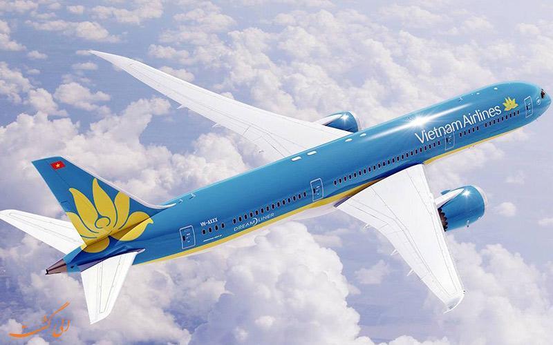 آشنایی با شرکت هواپیمایی ویتنام ایرلاینز (Vietnam Airlines)