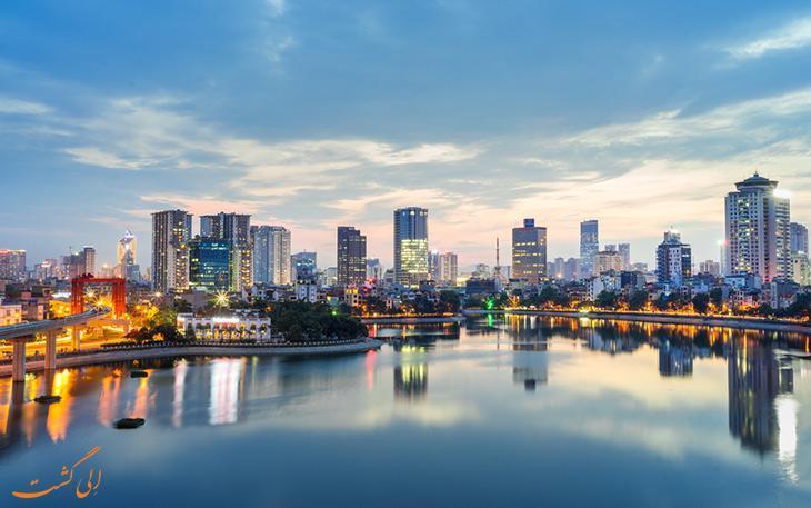 چطور از فرودگاه هانوی ویتنام به مرکز شهر برویم؟