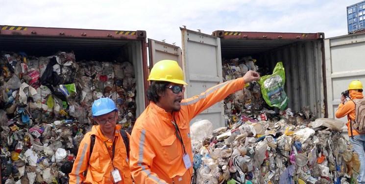 فیلیپین زباله های کانادایی را پس فرستاد