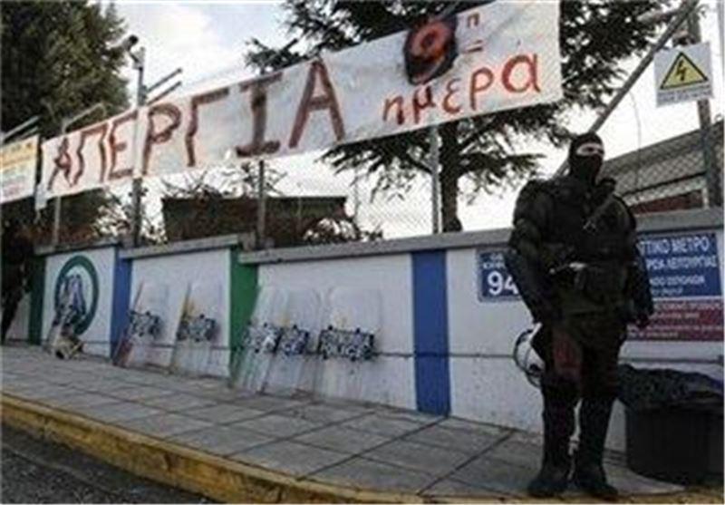 جنگ احزاب در مجلس یونان همزمان با افزایش تنش ها