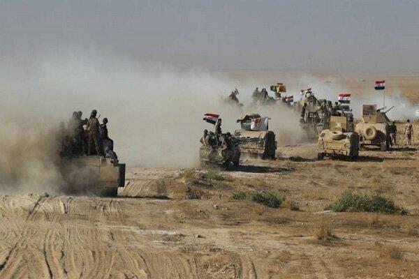 عملیات ضد تروریستی نیروهای عراقی در شمال رمادی