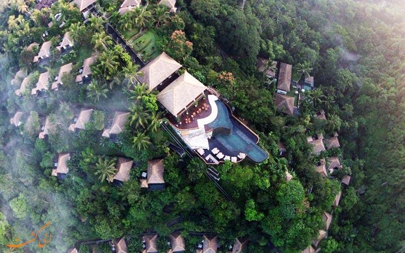 معرفی هتل 5 ستاره هنگینگ گاردن در بالی اندونزی