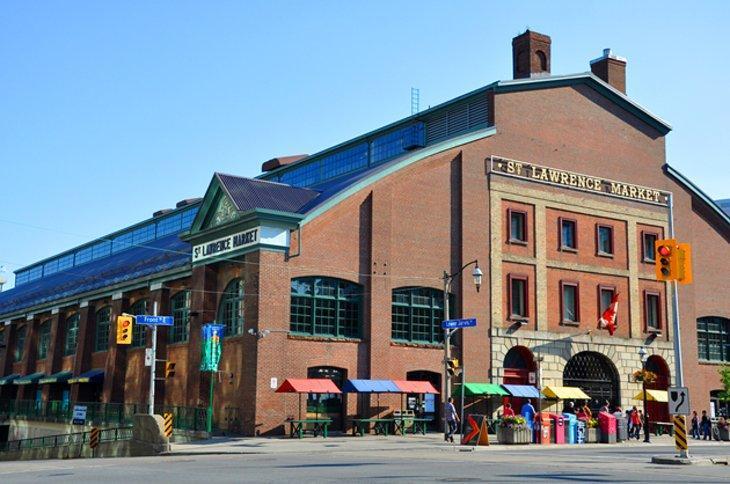 بازار سنت لارنس تورنتو کانادا