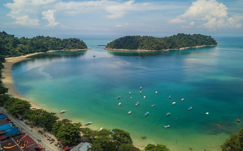 جزیره پانگکور، یکی از مهم ترین مراکز توریستی مالزی