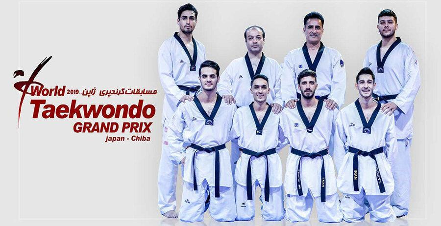 خاتمه کار تکواندوکاران ایران در مسابقات گرندپری با کسب 3 مدال