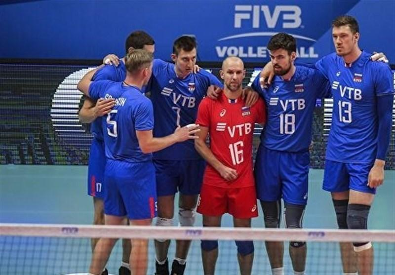 والیبال قهرمانی اروپا، روسیه مغلوب اسلوونی شد