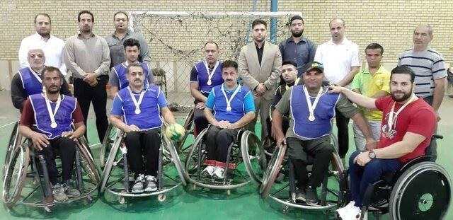 برگزاری اولین مسابقه نمادین هندبال با ویلچر در خوزستان