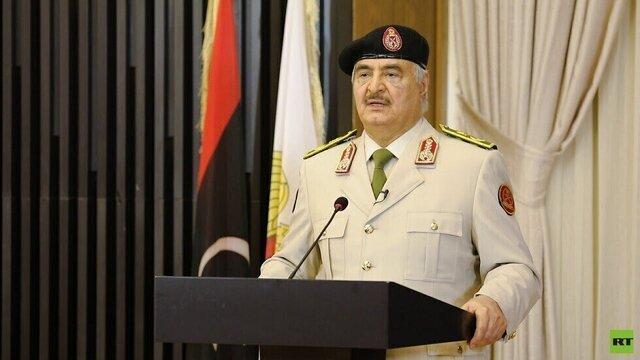 حمله نیروهای ارتش شرق لیبی به انبار پهپادها در فرودگاه معیتیقه، صدور حکم جلب حفتر
