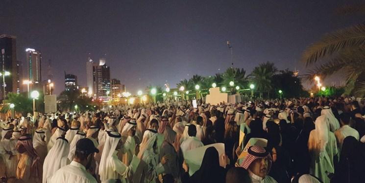 تظاهرات در کویت در اعتراض به مسائل معیشتی و قوانین تابعیت