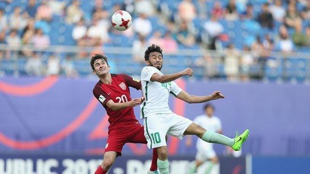 سرانجام دور گروهی جام جهانی فوتبال زیر 20 سال با صعود آمریکا