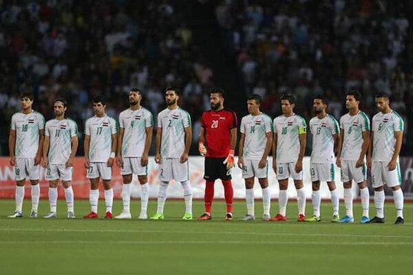 ترکیب تیم ملی فوتبال عراق مقابل ایران معین شد