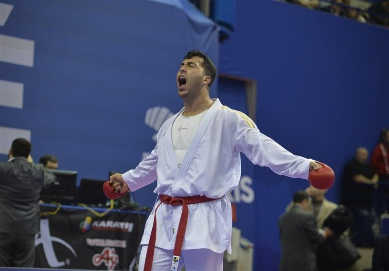 لیگ برتر کاراته وان اسپانیا، گنج زاده فینالیست شد، کوشش اباذری برای کسب مدال برنز