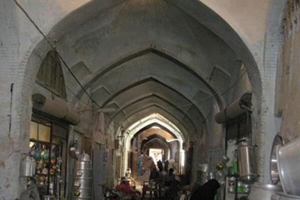 هشدار نسبت به ریزش سقف بازار 700 ساله شهرضا