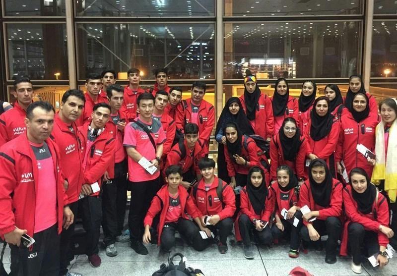 نایب قهرمانی جوانان ووشوی ایران در آسیا