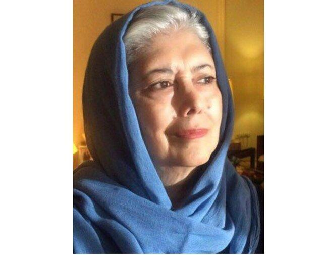 پیغام تسلیت نیکنام حسینی پور برای درگذشت ثریا قزل ایاغ