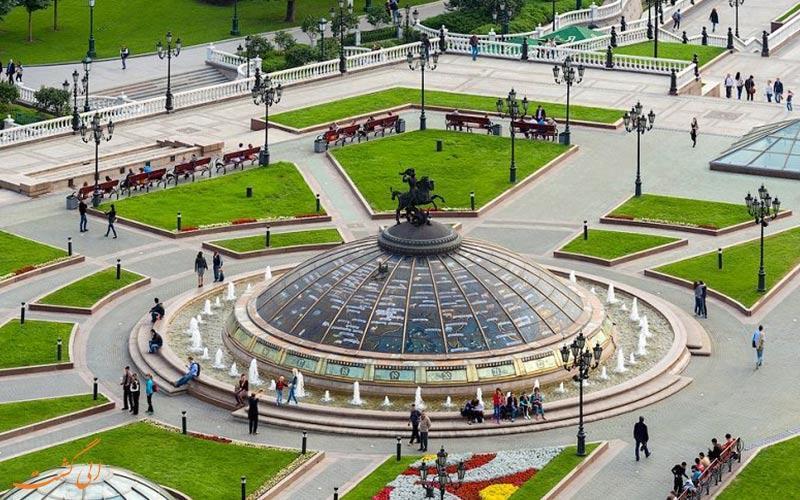 در میدان مانژ مسکو چه می گذرد؟!