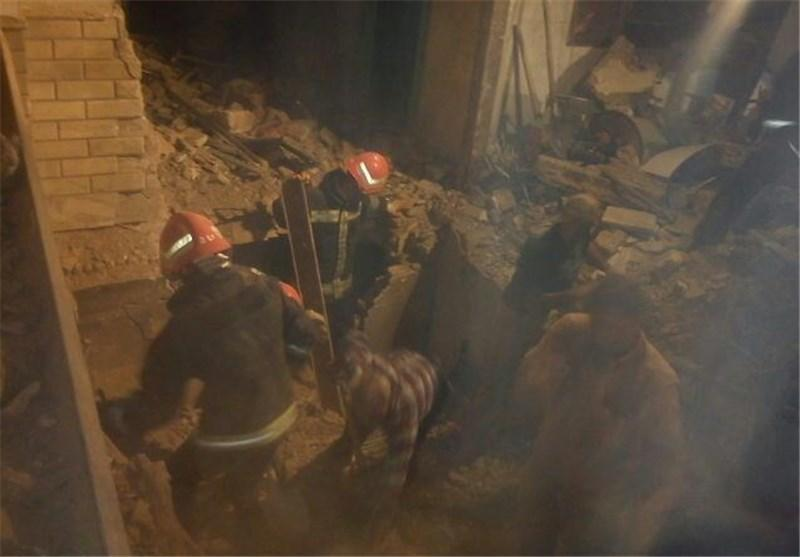 انفجار گاز در شهر قدس 2 نفر را به کام مرگ فرستاد