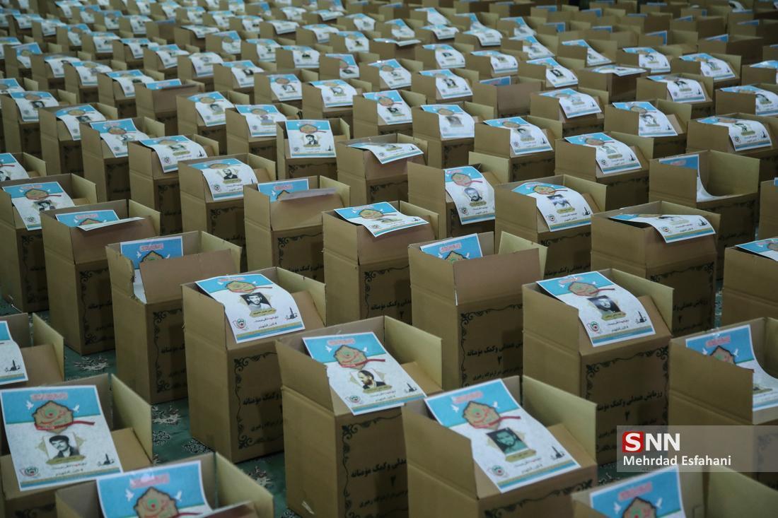 300 بسته ارزاق از ابتدای ماه رمضان میان نیازمندان توزیع شده است