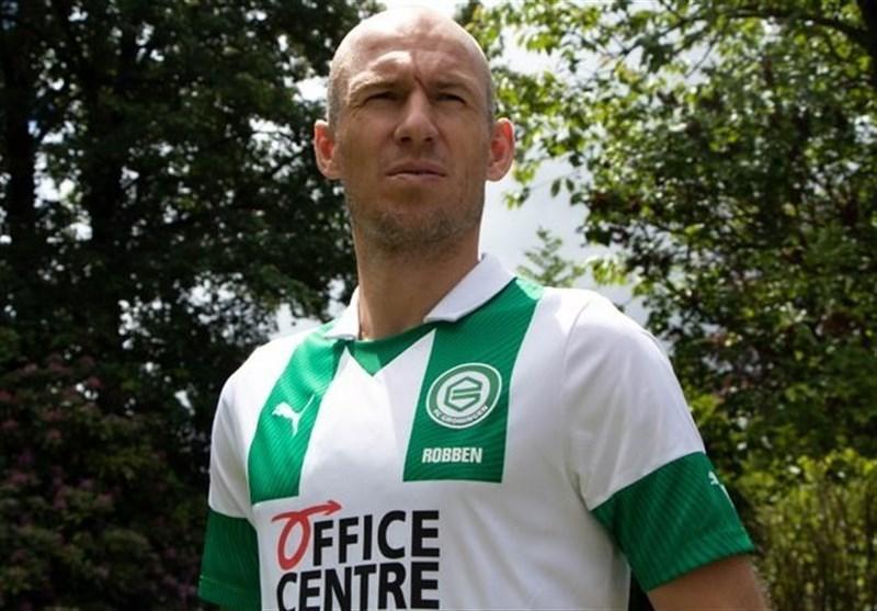 بازگشت روبن به دنیای فوتبال، خرونینگن، مقصد جدید ستاره سابق بایرن مونیخ