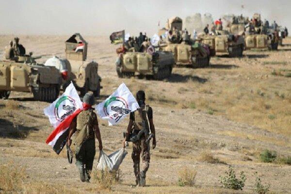 عملیات ضد تروریستی حشد شعبی و ارتش عراق، کشف مقر زیر زمینی داعش