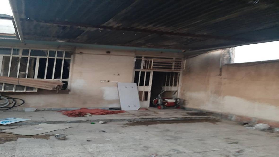 حریق منزل مسکونی در منطقه کیان آباد 2 مصدوم برجای گذاشت