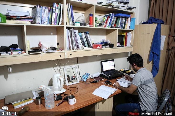 خوابگاه های دانشگاه شیراز در اختیار دانشجویان تحصیلات تکمیلی واقع شده است