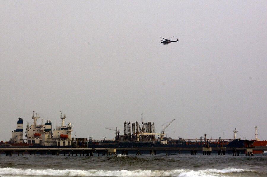 آمریکا چهار نفتکش حامل نفت ایران را در راستا ونزوئلا توقیف کرد