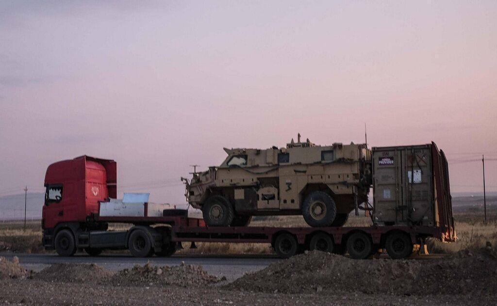 آمریکا بخشی از ادوات جنگی خود را از عراق به سوریه منتقل کرد