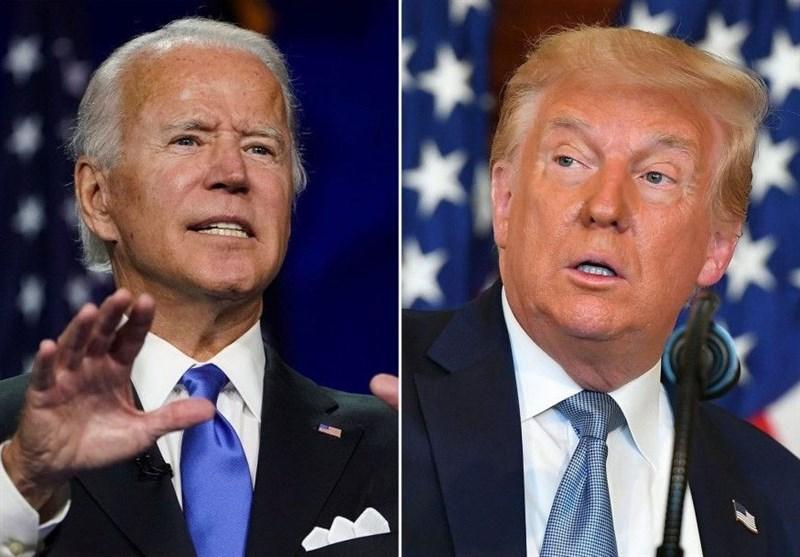 نظرسنجی نشان داد: پیشتازی دو رقمی بایدن نسبت به ترامپ