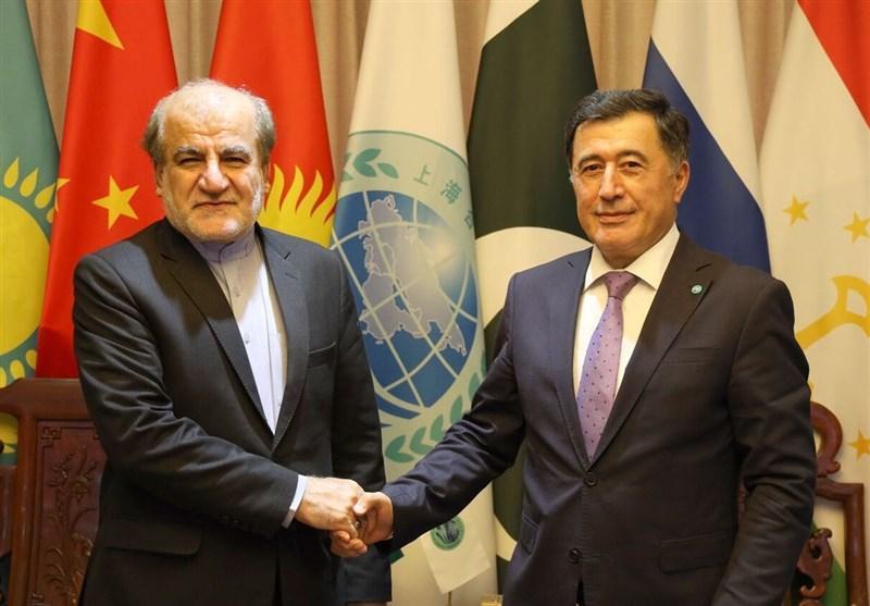 ملاقات سفیر ایران در چین با دبیرکل سازمان شانگهای