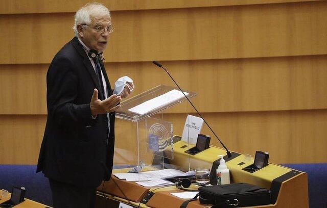 بورل: اتحادیه اروپا تحریم هایی با نام ناوالنی به تصویب برساند