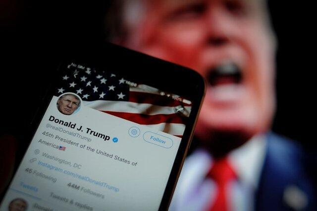 توییتر کاربرانی که آرزوی مرگ ترامپ را دارند، تعلیق می کند