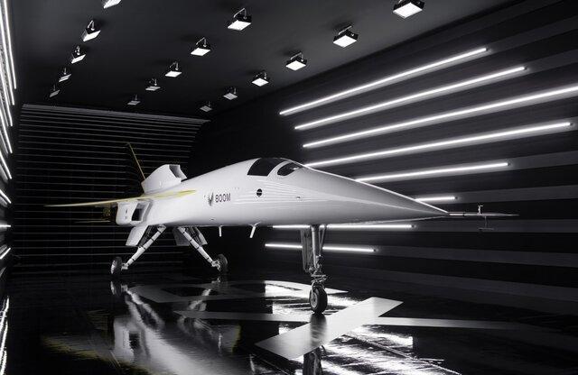 رونمایی از هواپیمای مدرن شرکت بوم سوپرسونیک