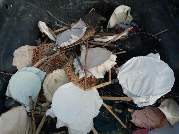 خبرنگاران 500 تله زنده گیری پرندگان در بوشهر جمع آوری شد