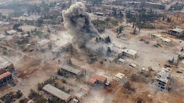 مرکز آشتی روسیه: تروریست های ادلب در تدارک حمله شیمیایی هستند
