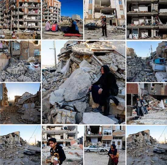 تهمینه میلانی از عمق فاجعه زلزله می گوید