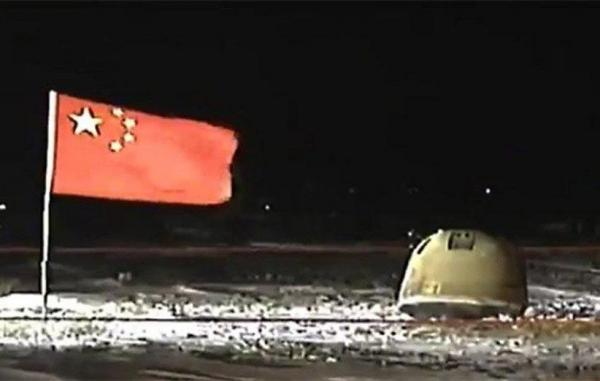 فضاپیمای چانگای 5 چین با نمونههای ماه به زمین بازگشت