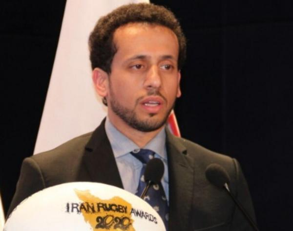 خبرنگاران قدردانی رییس کنفدراسیون راگبی آسیا از ایران