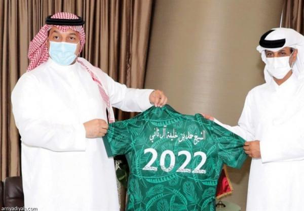 توسعه همکاری فدراسیون های فوتبال عربستان و قطر