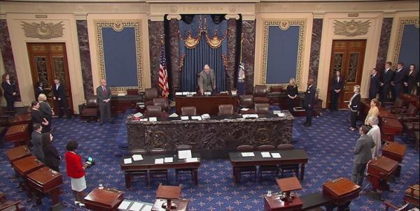 رسانه های آمریکایی: دموکرات ها کنترل مجلس سنا را به دست گرفتند