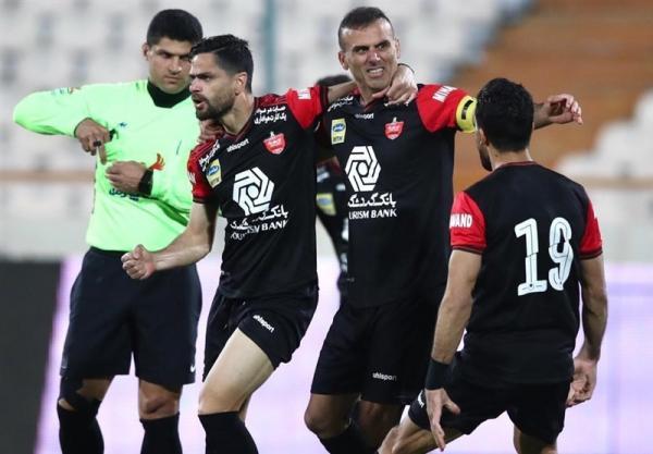 لیگ برتر فوتبال، فزونی پرسپولیس مقابل مس با فرمول تکراری