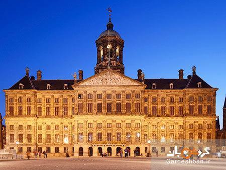 کاخ سلطنتی آمستردام؛یکی از زیباترین کاخ های دنیا، عکس