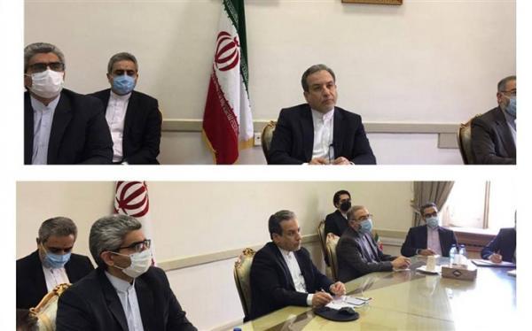 نشست برخط کمیسیون برجام با حضور ایران و نمایندگان 1